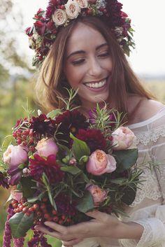 Inspiration - Un mariage marsala dans les vignes italiennes