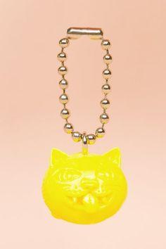 Covernat Crazy Cat keychain, $15