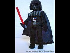 Amigurumi ganchillo La Guerra de las Galaxias. Star Wars crochet doll. El despertar de la fuerza. - YouTube
