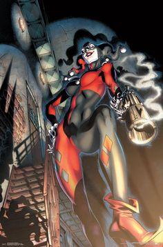 Batgirl, Catwoman, Joker Und Harley Quinn, Harley Quinn Drawing, Dc Comics, Comics Girls, Memes Batman, Quinn James, Hearly Quinn