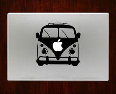 "Volkswagen Bus Decal Sticker Vinyl For Macbook Pro/Air 13"" Inch 15"" Inch 17"" Inch Decals Laptop Cover"