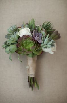bouquets, green, roses, rustic, shabby chic, succulents, white, classic, North Garden, Virginia
