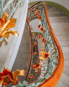 Stair railing of Reök Palace, Szeged, Hungary Photo: © Gergő Szatmári Stair Railing, Stairs, Central Europe, Capital City, Hungary, Palace, Roots, Mirror, Home