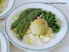 salade toute verte, haricots, petits pois...