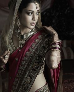 Modern Indian Bride -- yet flourishing with timeless culture and traditions!. S)