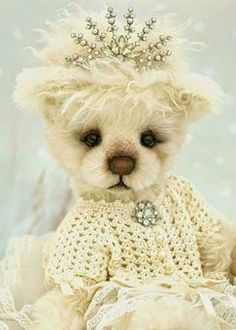 Three O'Clock bears (Look at the sweet face on this little princess) For Princess Emma