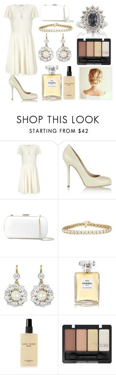 """""""Windy"""" by soolalcalde ❤ liked on Polyvore featuring Somerset by Alice Temperley, Sergio Rossi, Chanel and Bobbi Brown Cosmetics"""