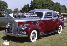 1941 Packard 120 Coupe.