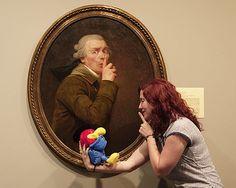 Ducreux selfie at the Spencer Museum - Joseph Ducreux, Master of the Internet Meme - http://blogs.artinfo.com/lacmonfire/2014/02/24/joseph-ducreux-master-of-the-internet-meme/