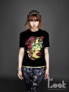 """2ne1 Gong Minji (Minzy)... the """"maknae"""""""