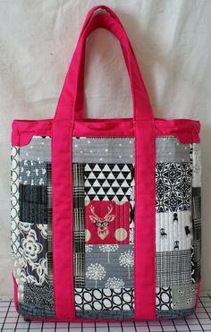 #SewSweetnessPattern Naughty Secretary Bag