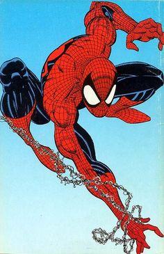 Spiderman by Erik Larsen 50 anniversary ///////// http://blog.vectorlibre.com/