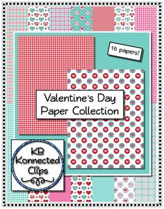 Valentine's Day Papers Papers https://www.teacherspayteachers.com/Product/Clip-art-Valentine-Papers-1024368