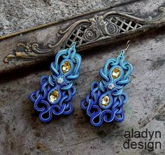 My soutache earrings  https://www.facebook.com/aladyndesign  http://aladyndesign.blogspot.com/