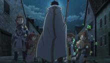 Back cloak view
