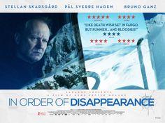 "Nuevo poster de ""In Order of Disappearance"", con Stellan Skarsgard."