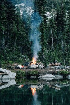 World Camping. Tips, Tricks, And Techniques For The Best Camping Experience. Camping is a great way to bond with family and friends. Outdoor Life, Outdoor Camping, Camping Outdoors, Lake Camping, Camping Gear, Bushcraft Camping, Camping Cabins, Camping Hammock, Camping Trailers