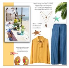 """""""Summer mood"""" by janee-oss ❤ liked on Polyvore"""