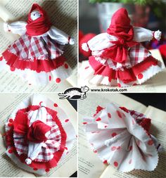 Rag doll - Baba Marta. Free picture tutorial