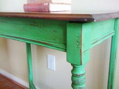 Antibes Green Chalk Paint | savinggracecreations