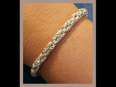 Must Know Monday (11/7/16) Byzantine Chainmaille Bracelet - YouTube