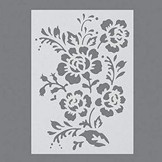 Stencil Templates, Stencil Patterns, Card Patterns, Stencil Designs, Stencil Painting, Fabric Painting, Stenciling, Let's Make Art, Kirigami