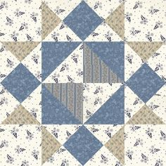 June 15 Girl's Favourite was given its name in 1938, in Needlecraft Supply's booklet: Patchwork Quilts and How to Make Them. However, its original name was Square and Star, from the Ladies Art Company, c. 1895, and it was also published as Squares and Triangles in the Kansas City Star.
