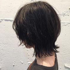 wolf cut 本日もお待ちしております #ウルフカット#マッシュウルフ#ウルフヘア#norahairsalon Hair Color And Cut, Cut My Hair, Mullet Hairstyle, Medium Hair Styles, Long Hair Styles, Shot Hair Styles, Aesthetic Hair, Dope Hairstyles, Hair Strand