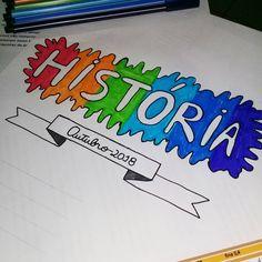 Primeiro post de h Notebook Art, Notebook Covers, Bullet Journal Notes, School Notebooks, Decorate Notebook, Study Notes, School Organization, School Projects, School Supplies