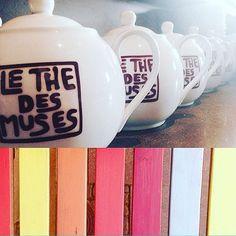 Un thé , une terrasse ! 🌞 #terrase #thé #tea #te #cha #tealovers #teamtea #grandchoix #couleurs #été #théière #ThéDesMuses #strasbourg #hoplagram #samediausoleil