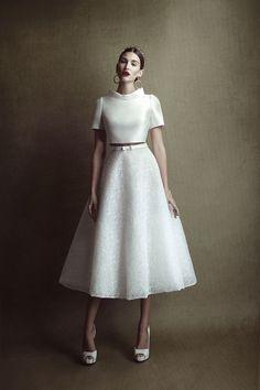 Wedding Dress/Abito da sposa Errico Maria Crop Top Wedding Dress