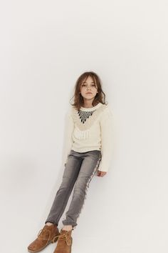 Look fille Automne-Hiver 2017/2018 collection IKKS Kid Girl #aw17 #kidstyle