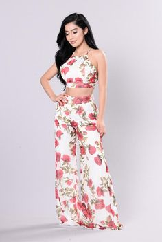 Do You Wanna Bet? Set - Red Floral