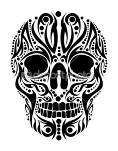 tribal skulls - Google Search