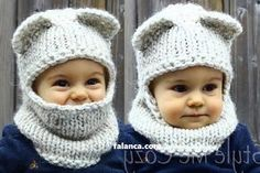 Discover thousands of images about Free Knitting Pattern for I'm a Hoot Hat - This pattern for an owl baby hat comes with a free video tutorial. Baby Hats Knitting, Crochet Baby Hats, Crochet Beanie, Knitting For Kids, Baby Knitting Patterns, Crochet For Kids, Loom Knitting, Crochet Clothes, Knitting Projects