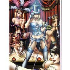 burlesque style