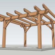 The pergola you choose will probably set the tone for your outdoor living space, so you will want to choose a pergola that matches your personal style as closely as possible. The style and design of your PerGola are based on personal Wooden Pergola Kits, Pergola Metal, Patio Pergola, Pergola Shade, Metal Roof, Small Pergola, Pergola Cover, Patio Roof, Small Patio