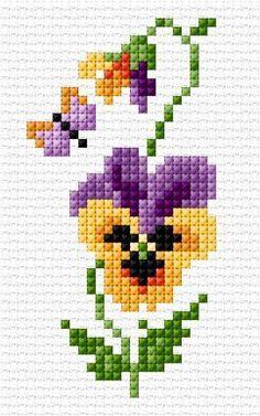 Knitting and crocheting cross stitch Punto de cruz, nombr. Knitting and croc Cross Stitch Horse, Cross Stitch Angels, Cross Stitch Bookmarks, Mini Cross Stitch, Cross Stitch Cards, Cross Stitch Borders, Simple Cross Stitch, Cross Stitch Flowers, Cross Stitch Designs