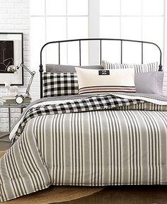 Lauren Ralph Lauren Home Bedding, University Aiden Comforter Sets - Bedding Collections - Bed & Bath - Macy's