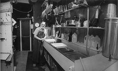 Inside Ansel Adams darkroom