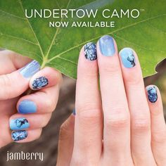 Cute nails for girls who fish & hunt! Coming soon! #CAMOGIRL #FISHING #HUNTINGCHICK #NAILS #Manicure #Pedicure DIY nail art #NailArt