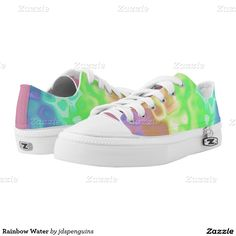 Rainbow Water Printed Shoes