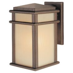 Murray Feiss Outdoor fixture Model Murray Feiss Mission Lodge Wall Mount Lantern in Corinthian Bronze finish with Amber ribbed glass. Contemporary from the Bronze Tones finishes group in Corthian Bronze. Wall Mounts category from the Mission Lodge family. Wall Lights, Wall Sconces, Wall Mount Lantern, Outdoor Wall Sconce, Wall Candles, Outdoor Lanterns, Outdoor Walls, Wall Sconce Lighting, Outdoor Ceiling Lights