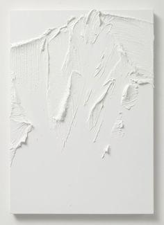 White abstract art by Conrad Jon Godly Inspiration Art, Art Inspo, Interior Inspiration, Conrad Jon Godly, Art Texture, White Texture, Modern Art, Contemporary Art, Minimalist Art