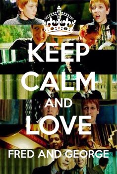 love fred and george
