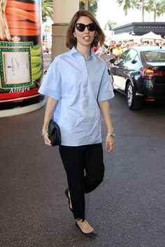 We went back all the way to '90s for a serious style stalking of Cannes-darling Sofia Coppola.