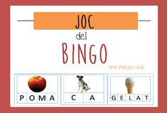 JOC DEL BINGO_català per treballar lectoescritura. Daily Five, Sistema Solar, Alphabet Activities, Speech Therapy, Kids And Parenting, Valencia, Montessori, Language, Letters