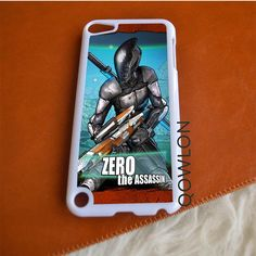 Borderlands 2 Zero the Assassin iPod Touch 5   5TH GEN Case