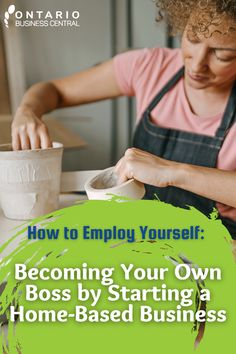 Starting your own home-based business has never been so simple. With low overhead costs and the flexibility available from working from home, these business models are a lucrative investment into a bright and prosperous future. We invite you to explore the different business ideas and benefits for ahome-based business. e put together this blog to help you get started! #businesstips #beyourownboss #entrepreneur #ontariobusinesscentral #selfemployed #startup #businessideas #yourownbusiness