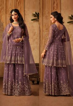 Mohini Glamour Vol 71 Net Embroidered Party Wear Dress D.No 71004 - The Indian Fashion Party Wear Indian Dresses, Designer Party Wear Dresses, Indian Gowns, Indian Designer Outfits, Indian Designers, Designer Clothing, Indian Wear, Sharara Designs, Kurti Designs Party Wear